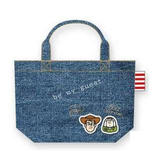 《日本代購》Toy Story 巴斯光年 胡迪 手提袋