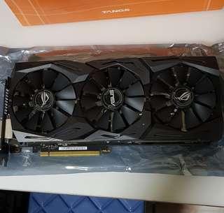Asus GTX 1080 Strix OC edition