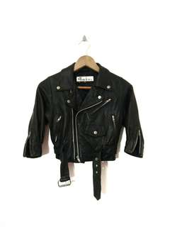Rare vintage Double Collar Jacket Punk Biker for Kids