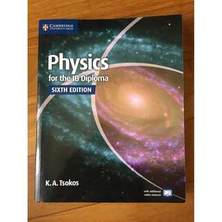 Physics for the IB Diploma Coursebook with Cambridge Elevate Enhanced Edition (IB Diploma) [paperback]
