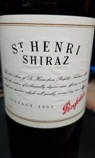 Penfolds St Henri Shiraz 2002
