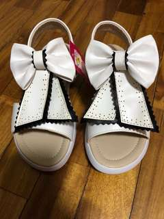 Brand new white girls shoes sandals
