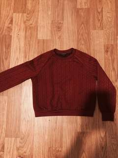 The Executive Maroon Sweater