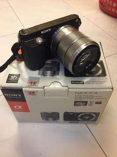 Sony Nex-F3 Camera in box tiptop condition