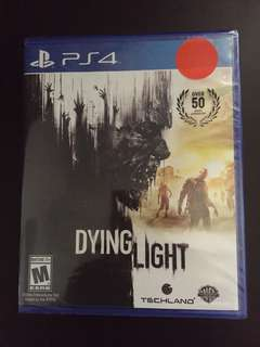 PS4 Dying Light (New)