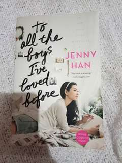 """Jenny Han """"To All The Boys I've Loved Before"""""""