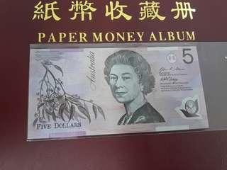 Duit Lama Australia $5 Dollar
