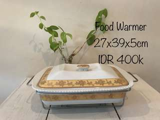 Food warmer ceramic