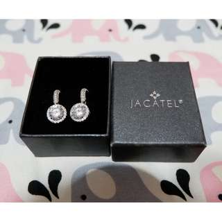 Jacatel earrings, Authentic, Used once only