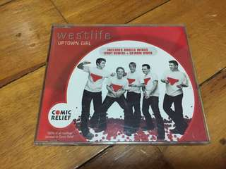 Westlife: Uptown Girl Single CD 1