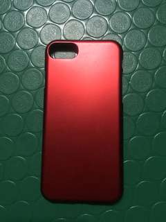 iPhone 7 Case (Matte Red)