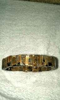 母矿钛晶手排 Gold Rutilated Bracelet