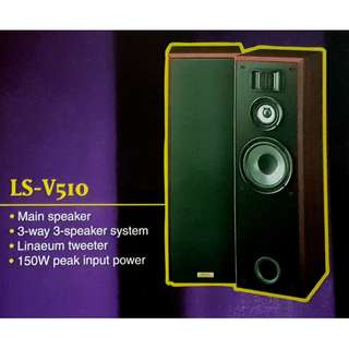 Kenwood floor speakers model: LS-V510