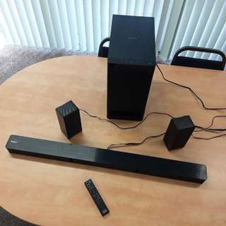 全新未開封 Sony HT-RT3 5.1 Sound Bar 家庭影音