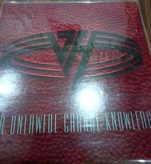 NM vg+ VAN HALEN FOR UNLAWFUL... RECORD VINYL rock hair korean press