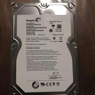 "3.5"" 1TB Seagate Hard Disk"