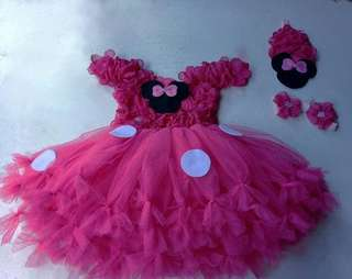 Tutu Dress (Minnie mouse Inspired)