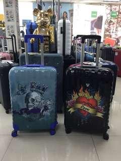阿豪 意大利品牌 空運到港 RONCATO 特別版圖案 25 吋 行李箱