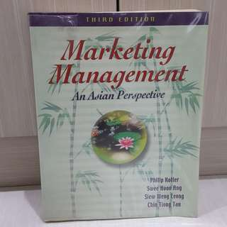 Marketing Management an Asian perspective