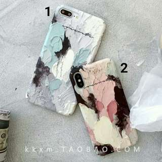 (Hard) Pastel Art iPhone 6/6s/7/8/X/6+/6s+/7+/8+