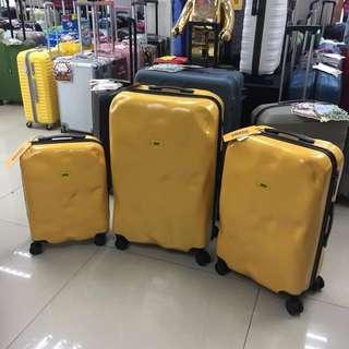 阿豪 新貨到著 全新 意大利品牌 Crash Baggage 特別 芥末黃色 20 24 28吋 行李箱 數量有限 原裝正品