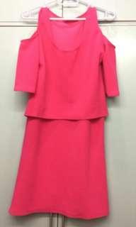 Pink Nursing Dress