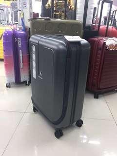 阿豪 最新到貨 法國 大使牌 Delsey 24吋 前開蓋 收納方便 行李箱