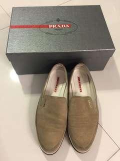 Prada Scampsciato Deserto slip on sneakers