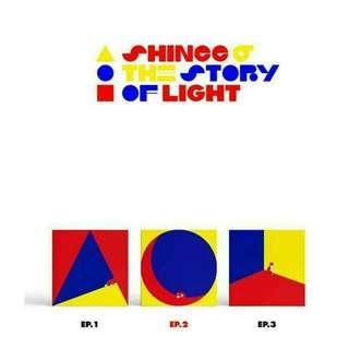 SHINee - Album Vol.6 [The Story of Light' EP.2]