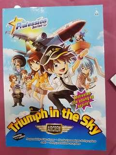 New Profession Triumph in the Sky ( Aircrew) comic