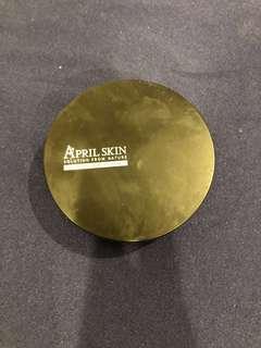 🚚 April skin氣墊粉餅盒