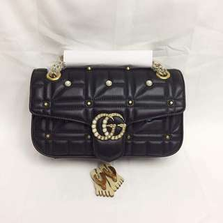 Gucci GG Marmont Pearl Matelasse Bag
