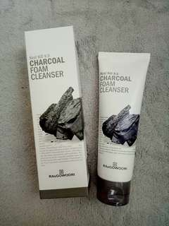🍀RA and gowoori Charcoal foam cleanser🍀