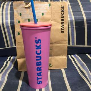 Starbucks Pink Stainless Steel Cold Cup
