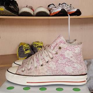 Converse second original high motif