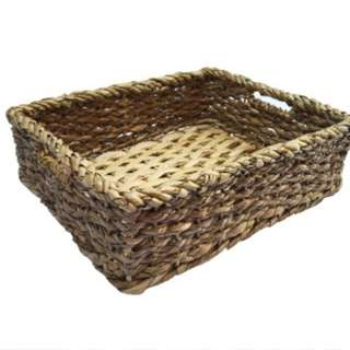 Rectangle Low Basket