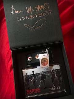 Bigbang Made Tour 2015 Tokyo Dome VIP Seat Gift  Swarovski crystal
