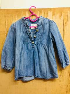 H&M Denim blouse
