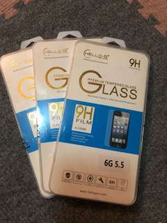 FREE SF!! iPhone 6plus tempered glass