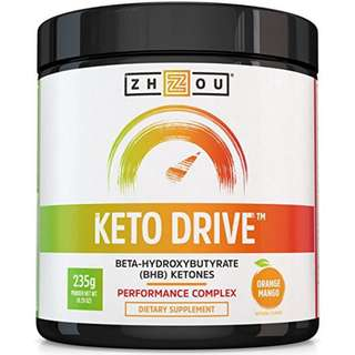[IN-STOCK] KETO DRIVE BHB Salts - Exogenous Ketone Performance Complex - Formulated for Ketosis, Energy, Focus and Fat Burn - Patented Beta-Hydroxybutyrates (Calcium, Sodium, Magnesium) -...  Zhou Nutrition
