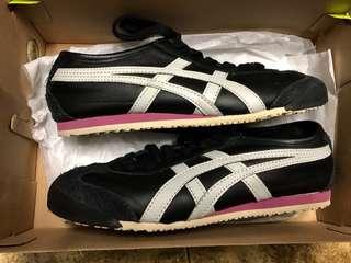 FREE SHIPPING Tiger Onitsuka Black/Pink/White sneakers