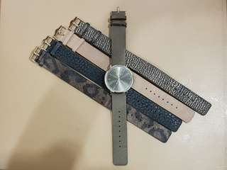 Aldo Analog Watch w/ interchangeable straps