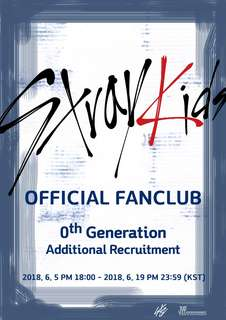 Stray Kids Official Fan Club 0th Generation