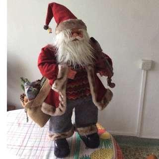 Christmas Santa Claus display 70 cm