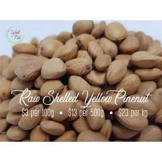 Raw Shelled Yellow Pine Nut
