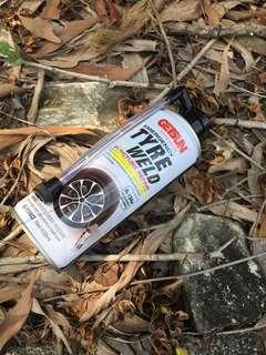 Emergency tyre weld
