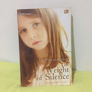 Novel Buku Murah The Weight of Silence