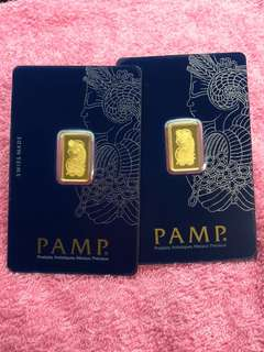 Pure Gold Bars (999 Series) + Zodiac Gold Coins (999 Series) ❤️❤️❤️