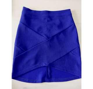 Blue skirt xs