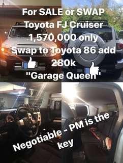Toyota FJ Cruiser 2015